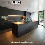 LED Unterbauleuchte aus Aluminium 230V 4000K Neutralweiß mit Sensorschalter