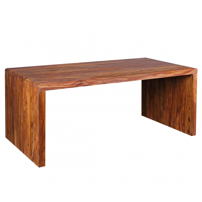 Schreibtisch BOHA Massiv-Holz Sheesham Computertisch 180 cm breit ...