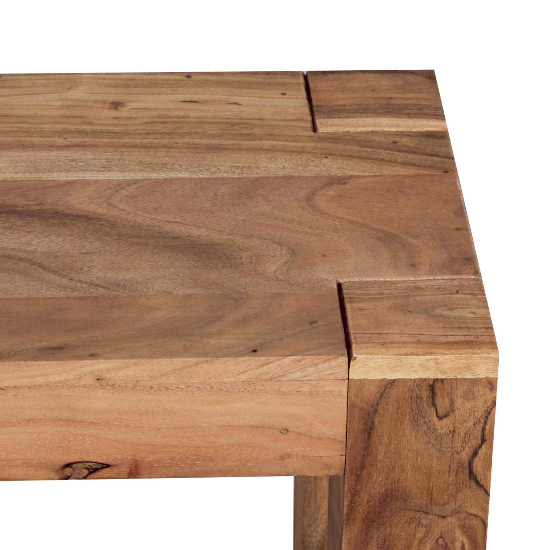 Esszimmer Sitzbank Mumbai Massiv Holz Akazie 120 X 45 X 35 Cm Holz