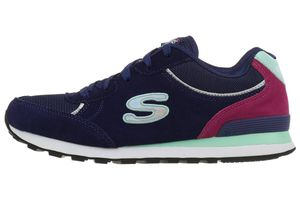 Skechers Flynn Damen Sneaker Sportschuhe navy Air Cooled Memory Foam