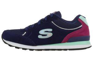 Skechers Flynn Damen Sneaker Sportschuhe navy Air Cooled Memory Foam