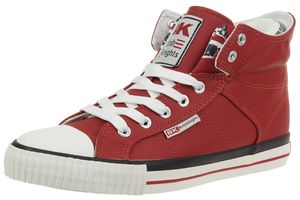 British Knights ROCO BK Sneaker BKC-3702-02 red England Flagge