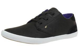 Boxfresh Stern BSC LEA/SDE Herren Sneaker Schuhe E14033 schwarz