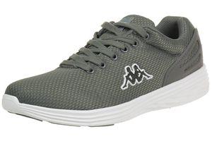 Kappa Trust Sneaker unisex grau weiß Turnschuhe Schuhe