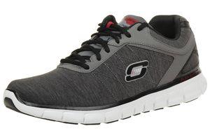 Skechers Synergy Instant Reaction Herren Sneaker Fitness Schuhe grey Lightwight