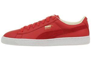 Puma Basket Classic UNISEX Sneaker rot mit Echtleder
