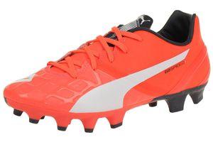 Puma evoSPEED 1.4 FG Jr. Kinder Fußballschuhe 103495 01 orange