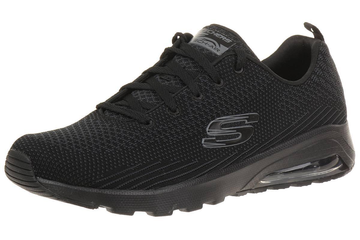 Skechers SKECH AIR EXTREME Damen Sneaker schwarz Air Cooled hOPs2