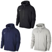 NIKE Fleece Team Club FZ Hoody Herren Zip Zipper Kapuzenpullover Sweatshirt Sweater