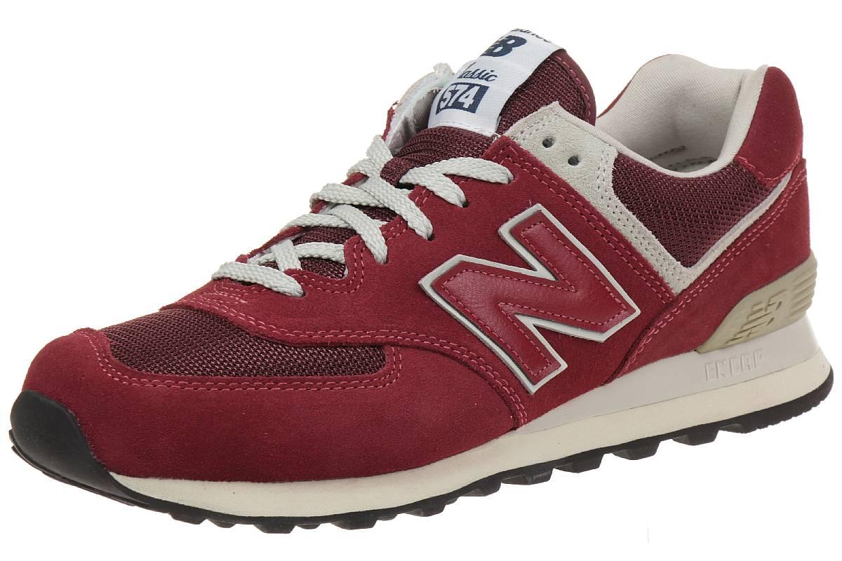 newest cd9f6 404e9 New Balance ML574 FBR Classic Sneaker Unisex Schuhe rot ...