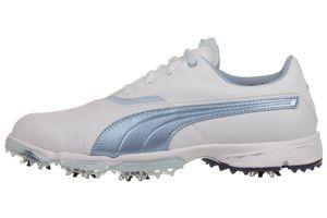 Puma BioPro Damen Golfschuhe Golf 187588 01 Waterproof Spikes