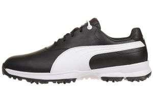 Puma Golf Ace Leather Herren Golfschuhe Golf 188658 04 black