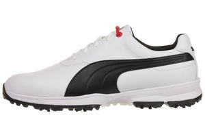 Puma Golf Ace Leather Herren Golfschuhe Golf 188658 01 white