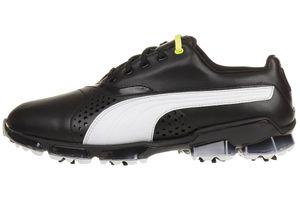 Puma Titantour Herren Golfschuhe Golf Leder schwarz 188056 01