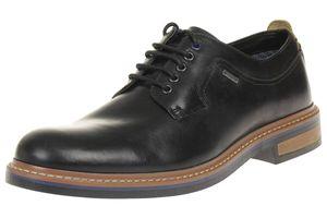 Clarks Darby Walk GTX Herren Men Schuhe Leder schwarz Gore Tex