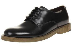 Clarks Feren Lace leather Herren Men Business Schuhe Leder schwarz
