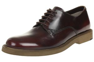 Clarks Feren Lace leather Herren Men Business Schuhe Leder chesnut