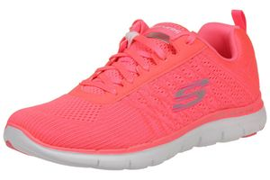 Skechers Flex Appeal 2.0 Break Free Damen Fitnessschuhe Lite Weight Pink