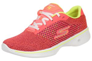 Skechers Damen GO Walk 4 Exceed Sneakers Damen Fitnessschuhe Walking Goga PKLM