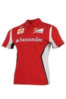 Puma Scuderia Ferrari Team Polo Jr. Shirt Kinder rot Gr. 176