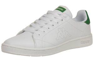 Kappa Court Sneaker unisex Turnschuhe Schuhe Sportschuhe weiß-green
