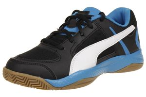 Puma Veloz Indoor II Jr. Kinder Hallenschuhe 103606 01 schwarz Indoor