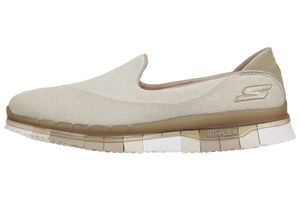 Skechers Go Flex Walk Damen Sommerschuhe Slip On Slipper TPE Ballerinas