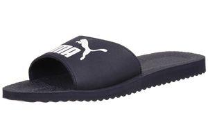 Puma Purecat Unisex-Erwachsene Sandalen Badelatschen blau