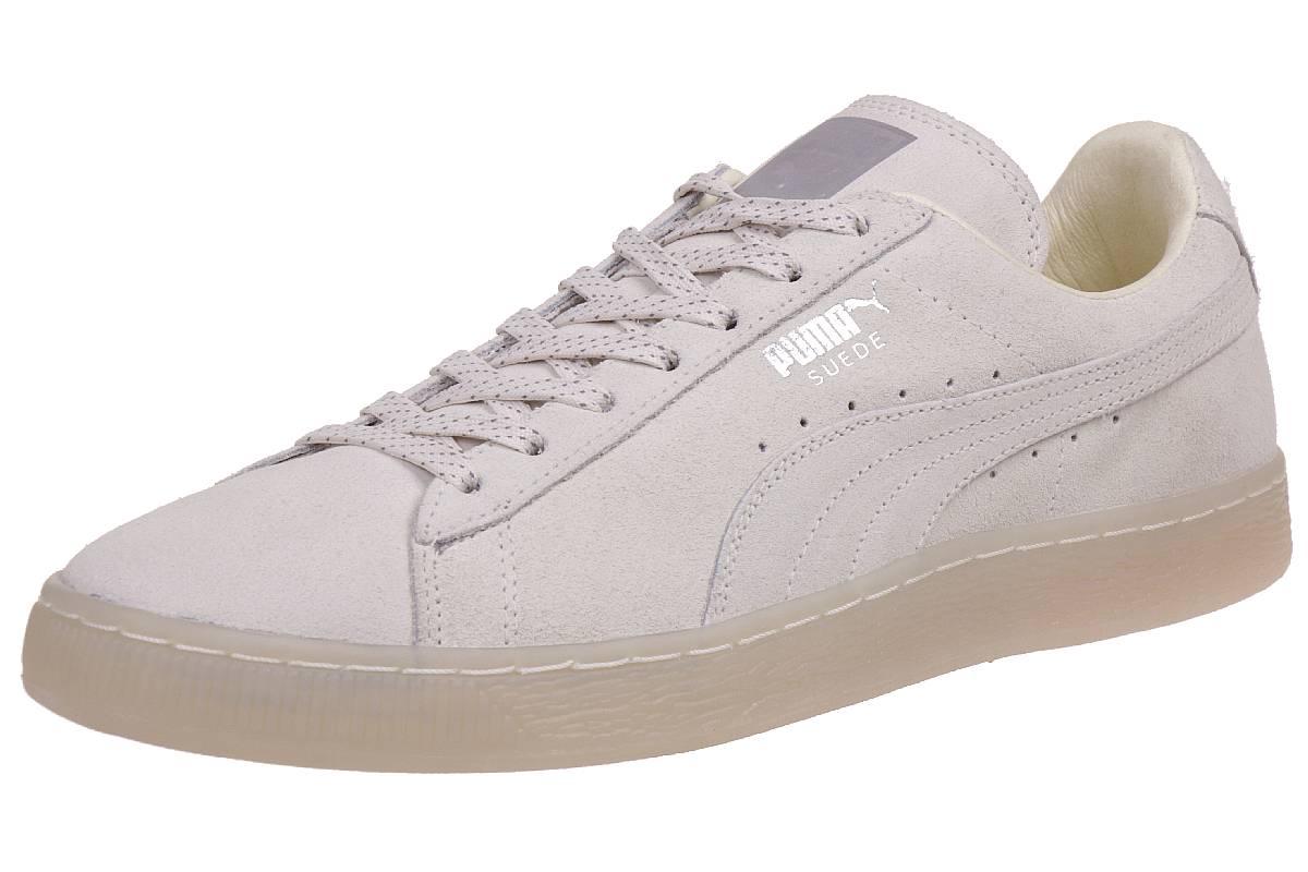 Puma Suede Classic Mono Ref ICED Herren Sneaker Schuhe Leder beige 362101 09
