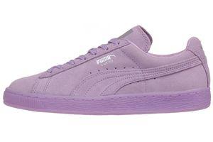 Puma Suede Classic Mono Ref ICED Damen Sneaker Schuhe Leder 362101 01