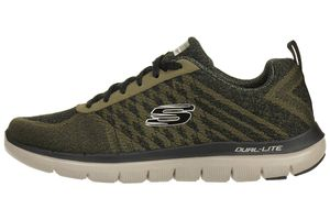 Skechers Skech Flex Advantage 2.0  Golden Point Herren Sneaker Fitness Schuhe olive
