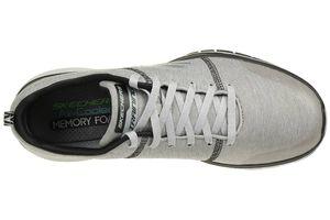 Detalles de Skechers Burst Tr Locust Hombre Zapatillas de Deporte Trainer Gris