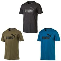 PUMA Herren ESS Essential No.1 Logo Tee T-Shirt Keeps You Dry NEW