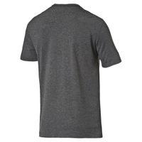 PUMA ESS Essential No.1 Heather Logo Tee T-Shirt Dry Cell 838243 01 grau
