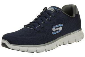 Skechers Synergy Fine Tune Herren Sneaker Fitness Schuhe NVGY Skech Knit