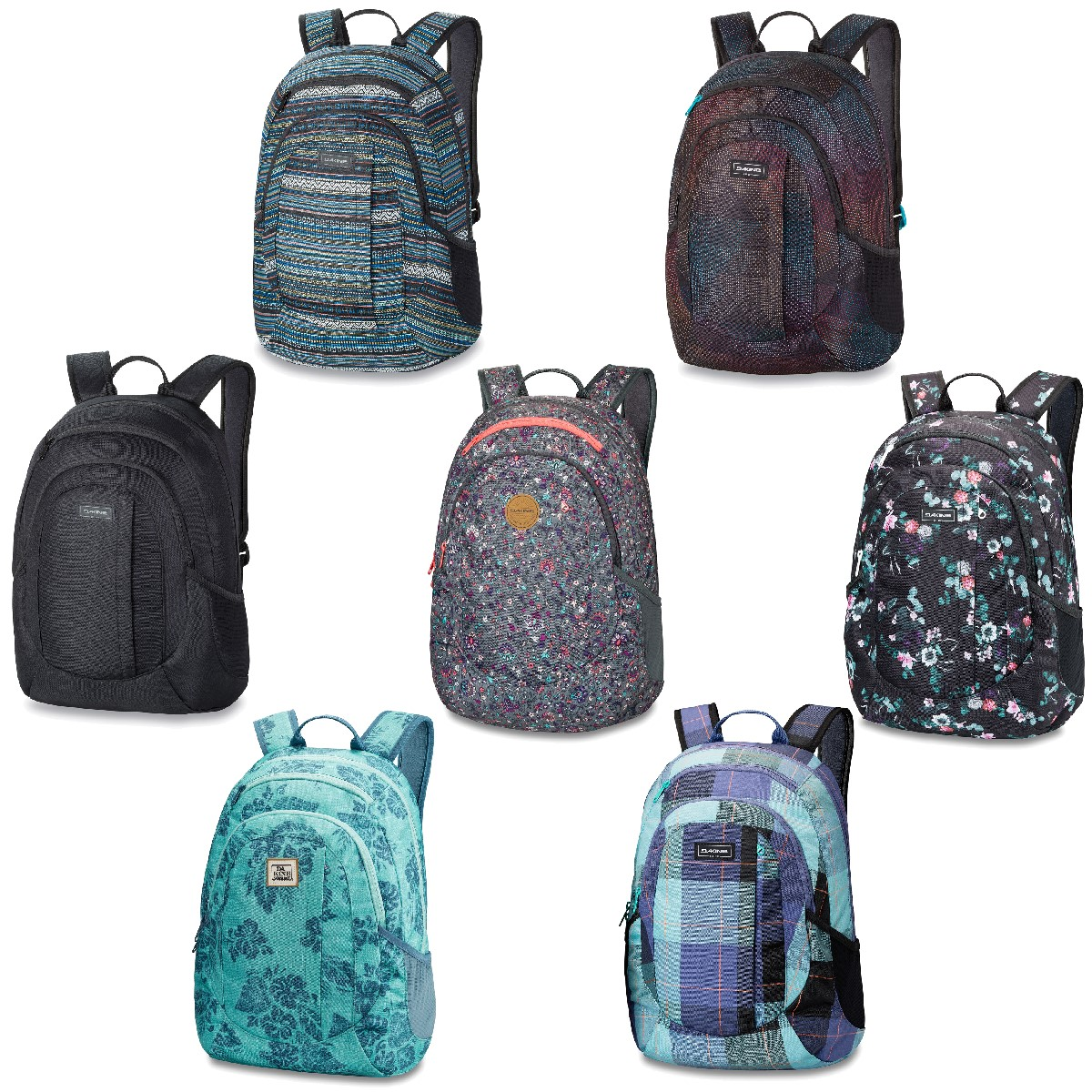 d0b06f5cd03d6 Dakine Rucksack Girls Garden Pack 20 Liter Backpack Schulrucksack ...