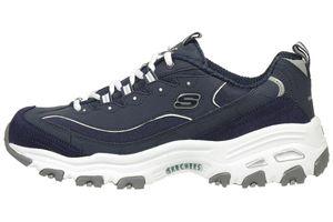 Skechers D'lites Me Time Damen Sneaker blau Schuhe NVW
