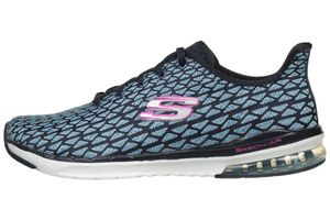 Skechers SKECH AIR Infinity Free Fallin Damen Sneaker navy Air Cooled Memory Foam