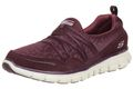 Skechers Synergy Cocktail Hour Damen Fitnessschuhe Air Cooled Memory Foam BURG 001