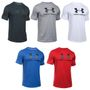 Under Armour Mens Heatgear Sportstyle Logo Fitness T-Shirt Tee 001