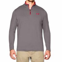 Under Armour Mens Long Sleeve Top 1/4 Zip T-Shirt Tee Gr. M