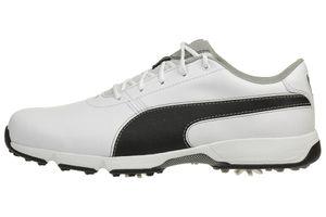 Puma IGNITE Drive Herren Golfschuhe Golf Leder 189166 04 weiß