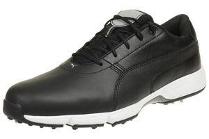 Puma IGNITE Drive Herren Golfschuhe Golf Leder 189166 05 schwarz