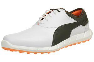 Puma Ignite Golf Spikeless Herren Golfschuhe Golf Leder weiß 188679 06