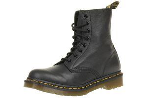 Dr. Martens Pascal Virginia weiches Leder Boots schwarz