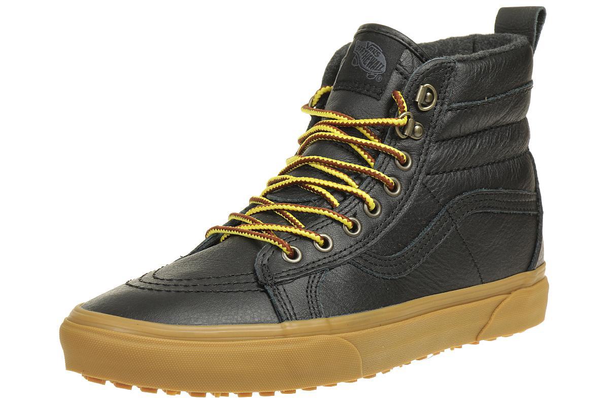 VANS Classic SK8-HI MTE Winter Sneaker Schuhe Leder schwarz ...