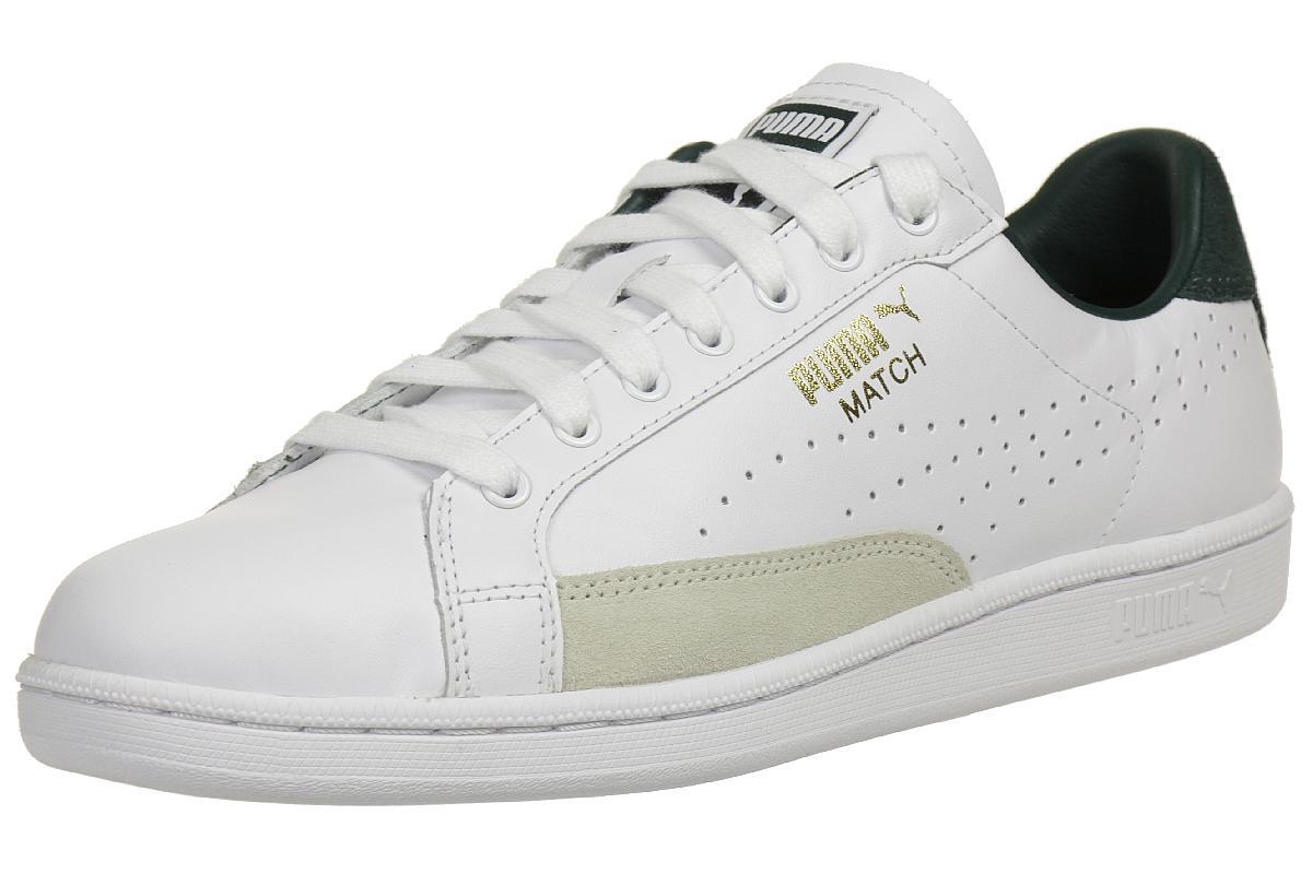 PUMA Match 74 UPC Sneaker schwarz gold : Sportbekleidung
