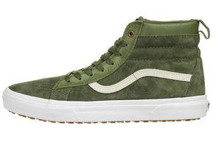 VANS Classic SK8-HI MTE Winter Sneaker Schuhe Leder A33TXQWZ olive