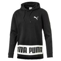 PUMA Rebel Hoody FL Hooded Sweatshirt Kapuzenpullover schwarz