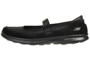 Skechers GO STEP Snap Damen Sommerschuhe Slip On Slipper BBK Ballerinas